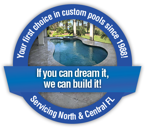 Your first choice in custom pools since 1988!