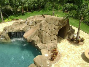 Poolside Landscaping and Irrigation