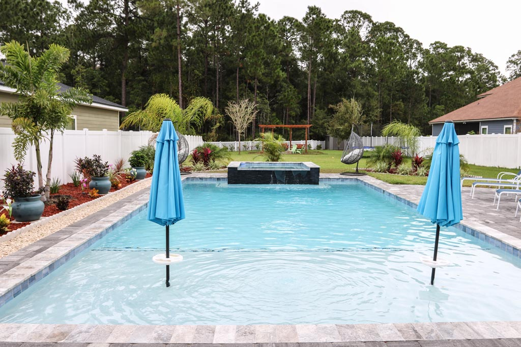 gradual entry pool lounge area duval county