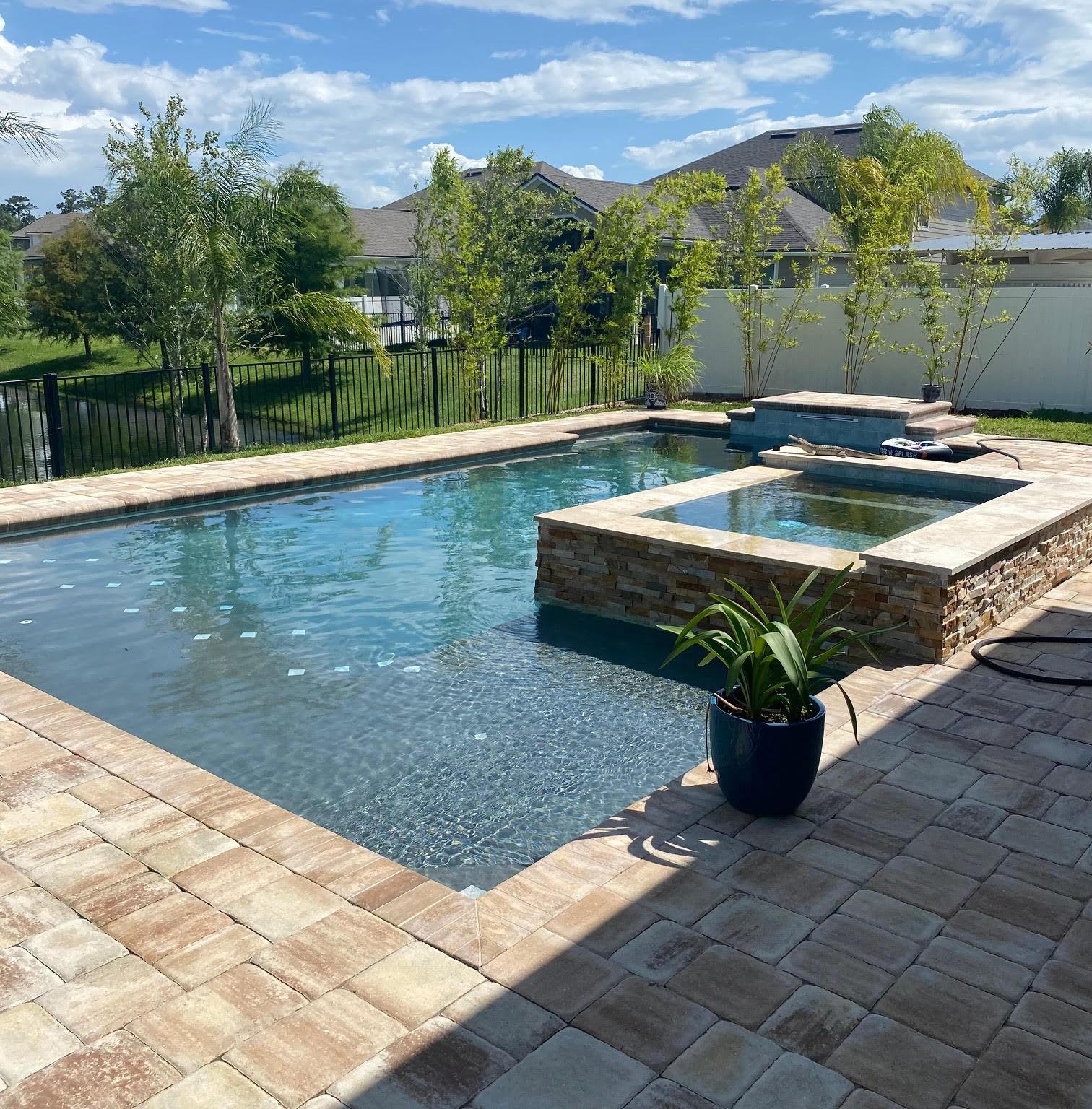 pool/spa residential inground pool